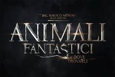 ANIMALI FANTASTICI E DOVE TROVARLI logo italiano e data d'uscita nei cinema