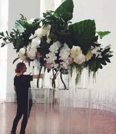 Serious floral arrangements