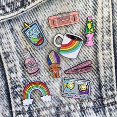 Inspiração (e onde comprar!) - Patches e Pins