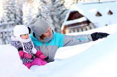 Naše zima a Penzion UKO Winter Kids, Fashion, Moda, Fashion Styles, Fashion Illustrations