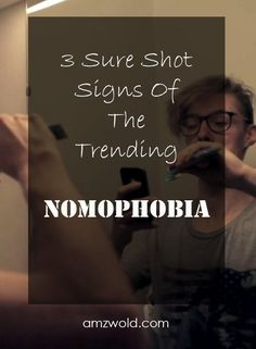 Everything you need to know about Nomophobia, the most trending phobia of this era. You have got it too, if you have a smartphone. Phobias, Need To Know, Funny Stuff, Smartphone, Thankful, How To Get, Science, Teaching, Feelings