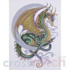 Free Dragon Cross Stitch Charts | Celestial Dragon
