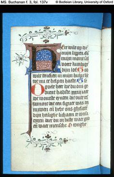 Illuminated Manuscript  MS. Buchanan f. 3 Book of Hours, in Dutch Netherlands, Utrecht diocese(?) ; 15th century, second quarter