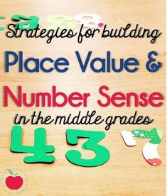 Place value is so cr