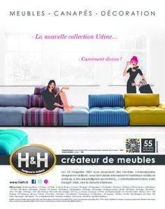 H&H - visuel Eté 2014 collection Udine