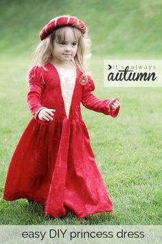 Une robe médiévale pour se déguiser