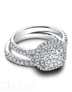 Halo bridal wedding sets with matching wedding bands with high quality diamond look Russian formula cubic zirconia in gold, gold or platinum by Ziamond. Dream Engagement Rings, Halo Diamond Engagement Ring, Designer Engagement Rings, Engagement Ring Settings, Bridal Rings, Wedding Rings, Bridal Jewellery, Thing 1, Bridesmaid Jewelry Sets