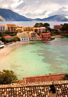 Kefalonia Island, Assos Village, Greece.