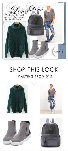 """""""ROMWE 10"""" by melissa995 ❤ liked on Polyvore"""