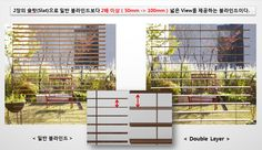 VITSWELL Double Layer Blinds Existing blinds Comparison