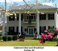 Oakmont Bed and Breakfast, Eutaw, Alabama:  A lovely restored Greek Revival home located in Historic Greene County Alabama,