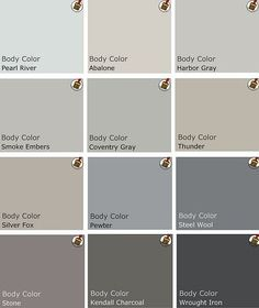 Neutral paint colors thunder or silver for dining living