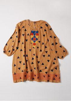 Bobo Choses geometric tunic dress