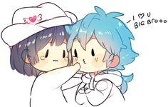 Aoba and Sei :3