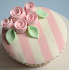 Shabby Chic 18th Birthday Cupcakes