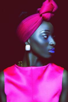 Beauté Noire by the Cameroonian Photographer Orphee Noubiss