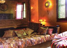 "Gillian Anderson's ""sitting room"""