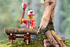 Real boys play with lumberjack legos ...