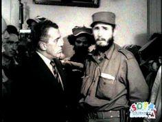 Fidel Castro interviewed on The Ed Sullivan Show The beginning go the lies & the Tyranny El principio de las mentiras y la tirania Cuba Fidel Castro, Cuban Leader, The Ed Sullivan Show, 70s Tv Shows, Revolution, Che Guevara, How To Memorize Things, Interview, History