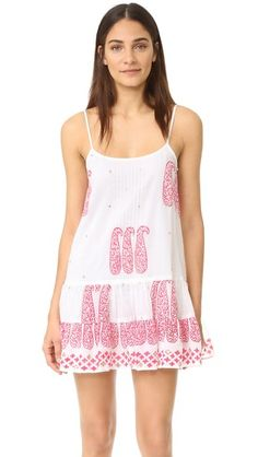 Juliet Dunn Cami Cover Up Dress