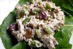 Easy Chicken Salad - Just Paleo Food Salad Recipes Low Carb, Paleo Chicken Recipes, Paleo Recipes Easy, Cooking Recipes, Paleo Meals, Lunch Recipes, Healthy Meals, Paleo Meal Plan, How To Eat Paleo