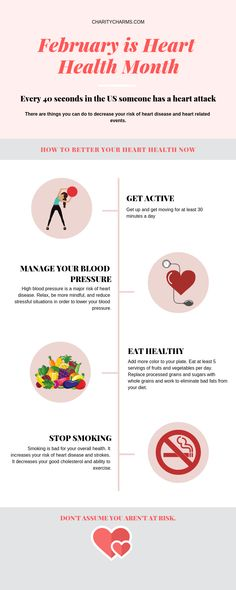 Heart Health Month is a very important cause. Don't wait until a heart related incident to learn about your heart. Improve your heart health now with these tips. February Awareness Month, Heart Health Month, Custom Charms, High Blood Pressure, Charity, Improve Yourself, Mindfulness, Learning, Tips