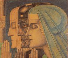 Jan Toorop, Het gebed / The prayer - 1924