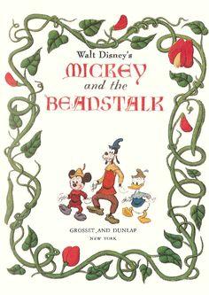 Mickey & the Beanstalk Cover Book.