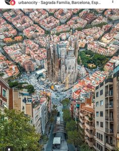 Majestic view of Sagrada Familia Barcelona Spain. Photo by Barcelona City Tour, Gaudi Barcelona, Barcelona Spain Travel, Hidden Photos, Destination Voyage, Travel Abroad, Vacation Trips, Vacation Travel, Land Scape