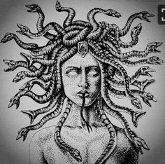 Medusa tattoo idea