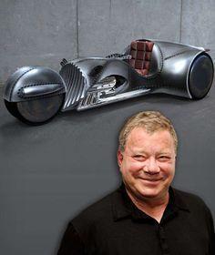 GALAKTISCH! Das ist Captain Kirks 500-PS-Dreirad