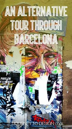 an alternative tour through Barcelona, looking for street art and the best beer in Catalunya Barcelona Tours, Barcelona Street, Barcelona Travel, Alternative, Amazing Street Art, Best Beer, Wanderlust Travel, Night Life, Traveling By Yourself