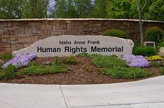 The Idaho Anne Frank Human Rights Memorial