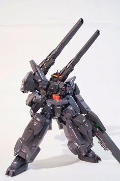 1/100 Seravee Gundam - Customized Build   Modeled by aruko