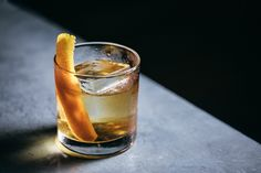 Double the bitters and two types of Scotch make the classic Rusty Nail cocktail a smidge more memorable in this recipe from Covina NYC. Nectarine Recipes Healthy, Persimmon Recipes, Saffron Recipes, Rusty Nail Cocktail, Scottish Drinks, Apple Brandy, Recipe Link, Deer