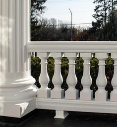 Cement ballisters and railing home balustrades balusters for House columns prices
