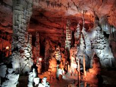 Cathedral caverns. Grant. Alabama