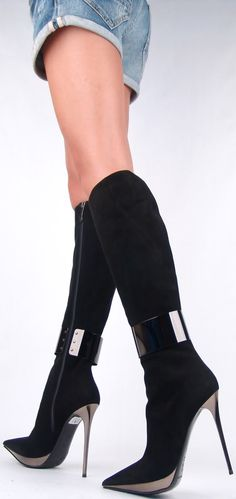 Wow boots -- now you know those boots deserve something better than cut off shorts.