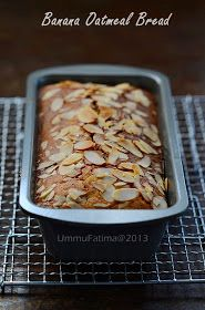 Simply Cooking and Baking...: Banana Oatmeal Bread