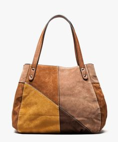 sac à main besace bréal collection femme vintage marron