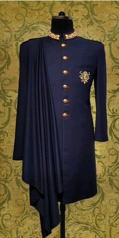 Tailored Mens Sherwani (New Designs) African Wear Styles For Men, African Dresses Men, African Attire For Men, African Clothing For Men, Nigerian Men Fashion, Indian Men Fashion, Mens Fashion Wear, Suit Fashion, Mens Indian Wear