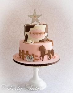 Cowgirl cake - Cake by Cakes by Arelys