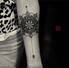 mandala forearm tattoo - 40 Intricate Mandala Tattoo Designs  <3 <3