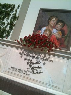 Crypt of Ronnie James Dio