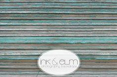 Photography Floor drop 4ft x 4ft, Photography Flooring / Floordrop, Photo Vintage Distressed Blue Slats Wood Floor, Photo backdrop. $40.95, via Etsy.
