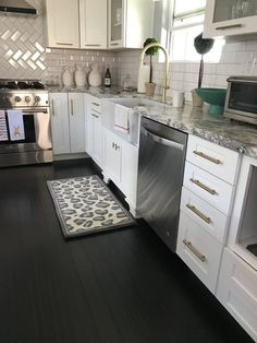 Get inspired by Modern Kitchen Design photo by Wayfair. Wayfair lets you find the designer products in the photo and get ideas from thousands of other Modern Kitchen Design photos. Diy Kitchen Cupboards, Kitchen Cabinet Interior, Kitchen Pantry Design, Rustic Kitchen Design, Diy Kitchen Storage, Kitchen Styling, Interior Design Kitchen, Kitchen Ideas, Freestanding Kitchen