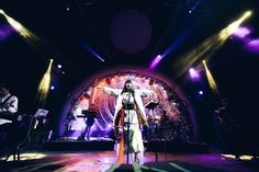 Kimbra performing on the Vine Stage Festival 2016, New Zealand, Vines, Sunrise, Stage, Concert, Beauty, Fashion, Moda