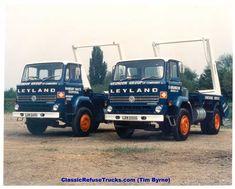 Classic Refuse Trucks DAVID MacKRILL Cool Trucks, Big Trucks, Classic Trucks, Classic Cars, Old Lorries, Road Train, Garbage Truck, Heavy Machinery, Classic Motors