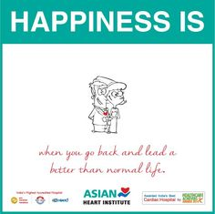 #Happiness #is When you go back and lead a better than normal life.