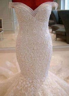Wedding Dresses #mermaid #stunning #detail